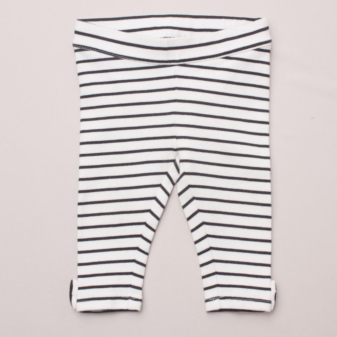Janie & Jack Striped Leggings