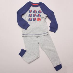 Mix Kids Elephant Pajamas
