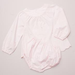 Jacadi Pink Dress & Bloomers Set