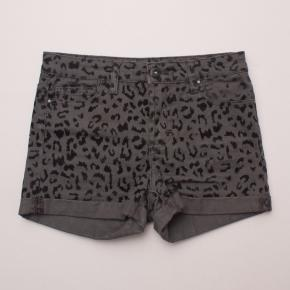 Witchery Leopard Print Shorts