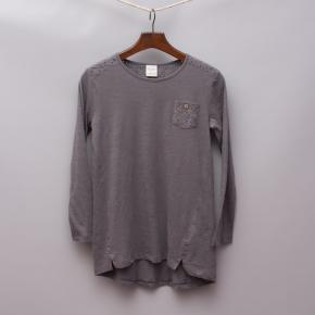 Zara Detailed Long Sleeve Top