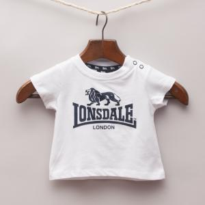 Lonsdale White T-Shirt