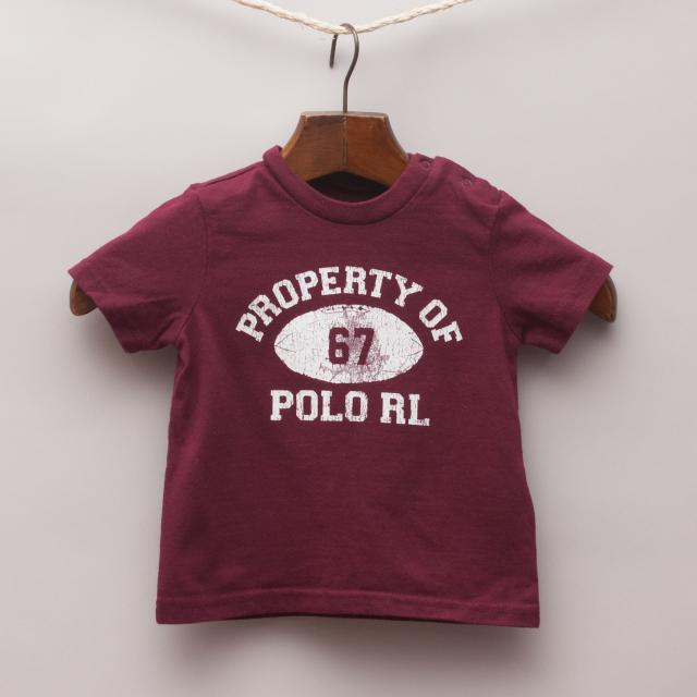 Ralph Lauren Football T-Shirt