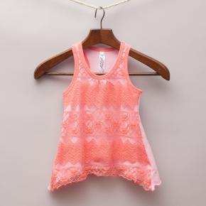 Love You Lots Lace Tank Top