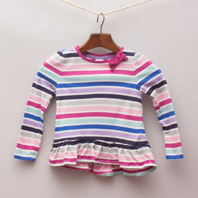Gymboree Striped Long Sleeve Top