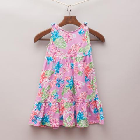 Gymboree Floral Print Dress