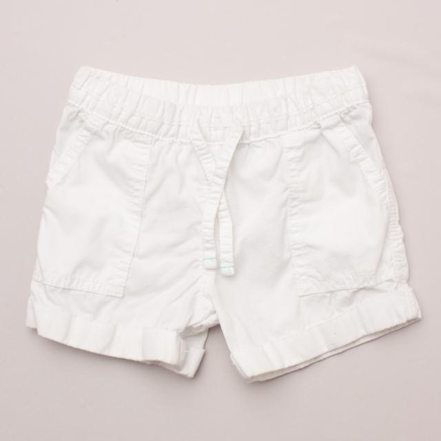 Carter's White Shorts