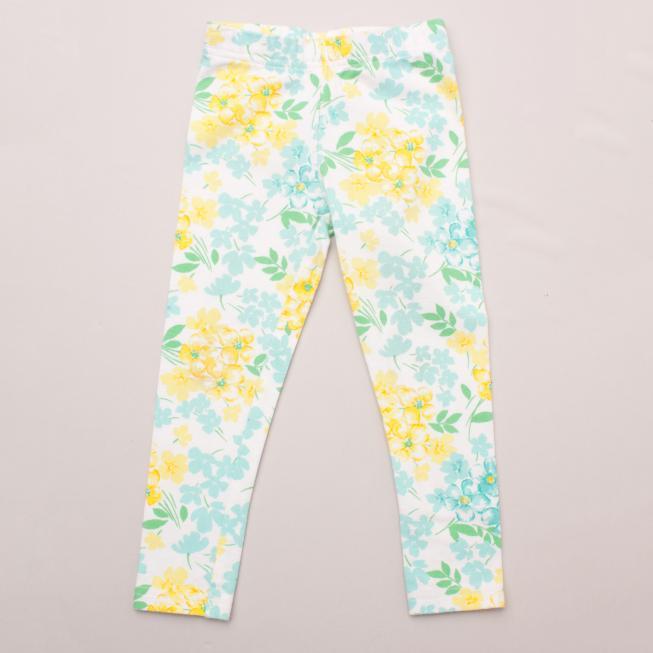 Carter's Floral Leggings