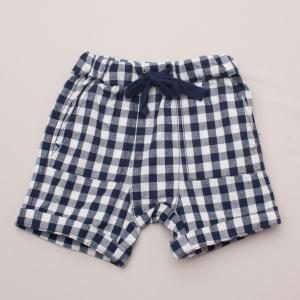 Seed Checked Shorts