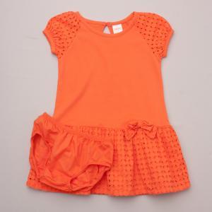 Gymboree Orange Dress & Bloomers