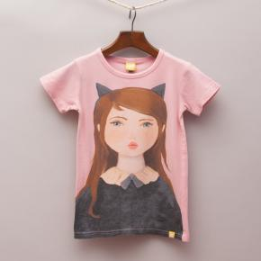 Rock Your Kid Painted Girl T-Shirt