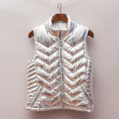 Seed Silver Padded Vest