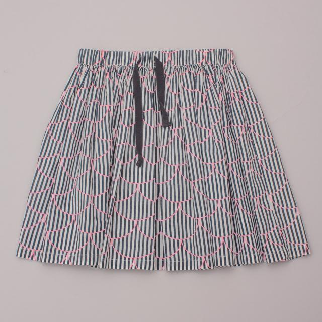 Country Road Striped Skirt