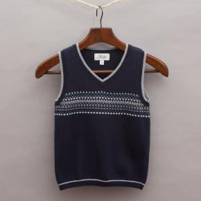 Bebe Detailed Knitted Vest