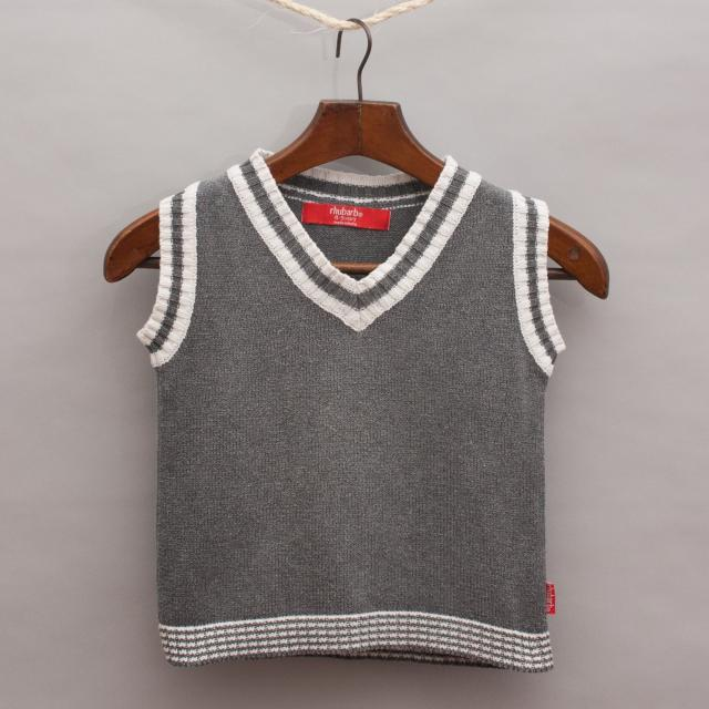 Rhubarb Knitted Vest
