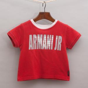 Armani Red T-Shirt