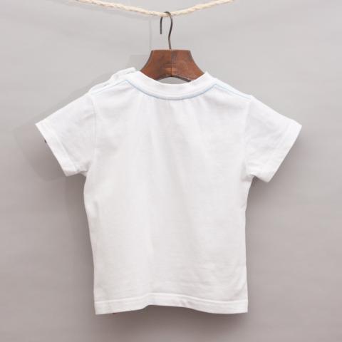 Esprit Plain White T-Shirt