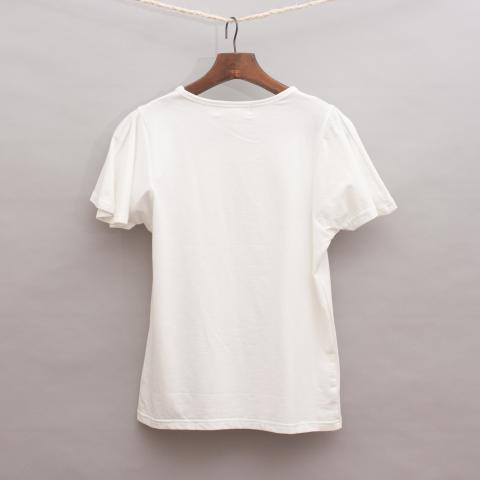 Petit De Nimes Embellished Top