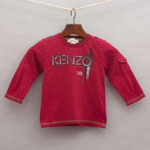 Kenzo Embroidered Long Sleeve Top