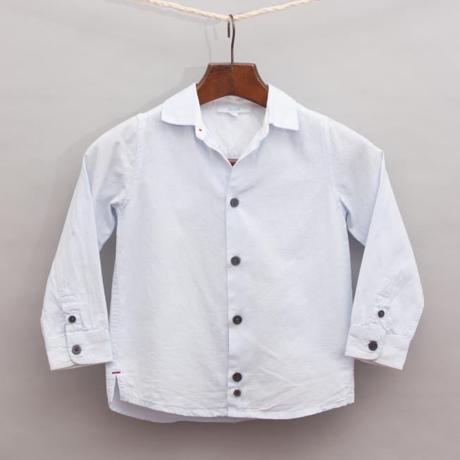 Jacadi Light Blue Shirt