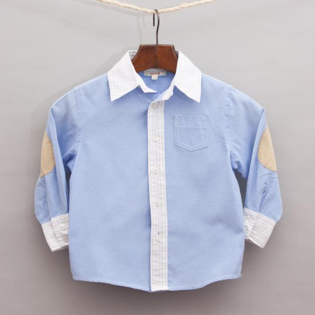 Seed Contrasting Shirt