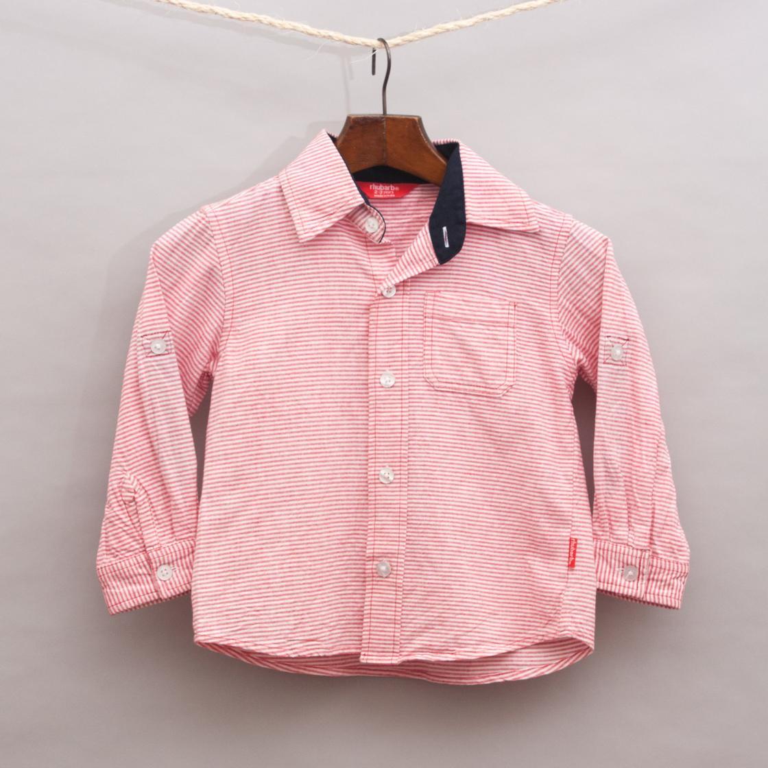 Rhubarb Striped Shirt