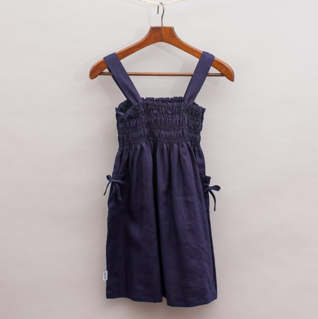 Gypsy Kids Navy Dress