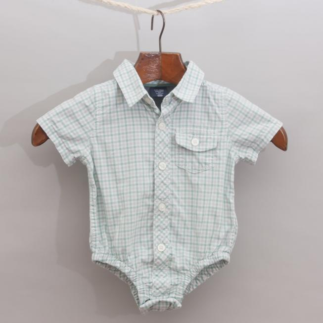 Baby Gap Checked Romper