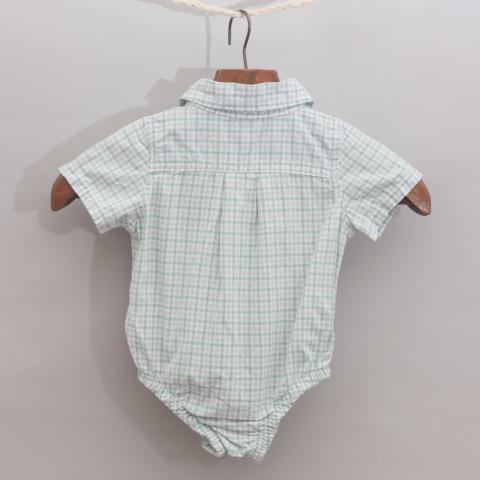 Baby Gap Checked Romper