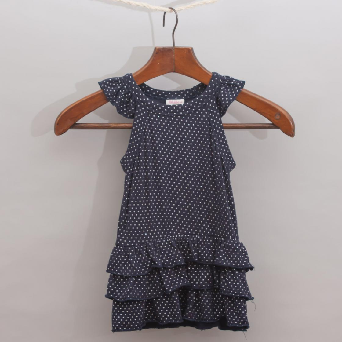 Milky Spotted Dress