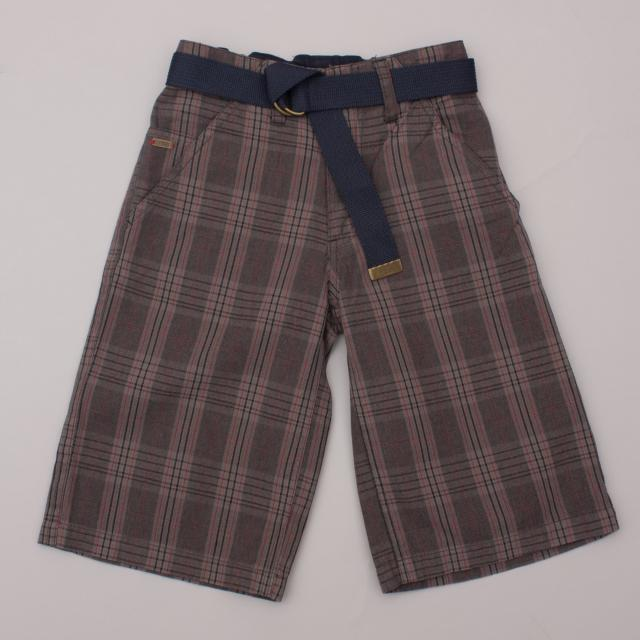 Urban Check Shorts