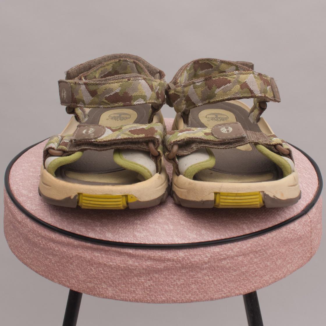Timberland Camo Sandals - Size EU 27