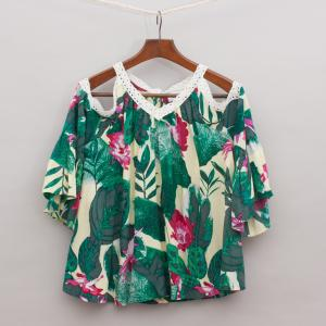 Witchery Printed Floaty Top