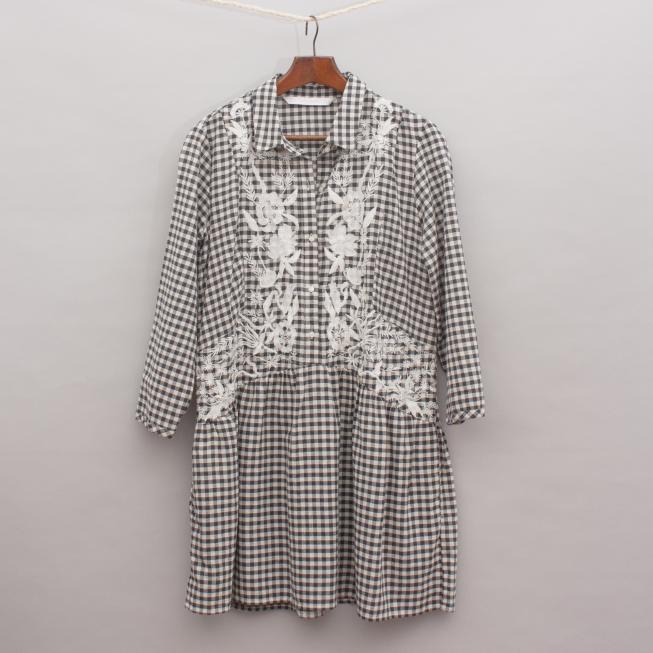Zara Gingham Dress