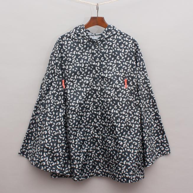 Zara Printed Rain Poncho