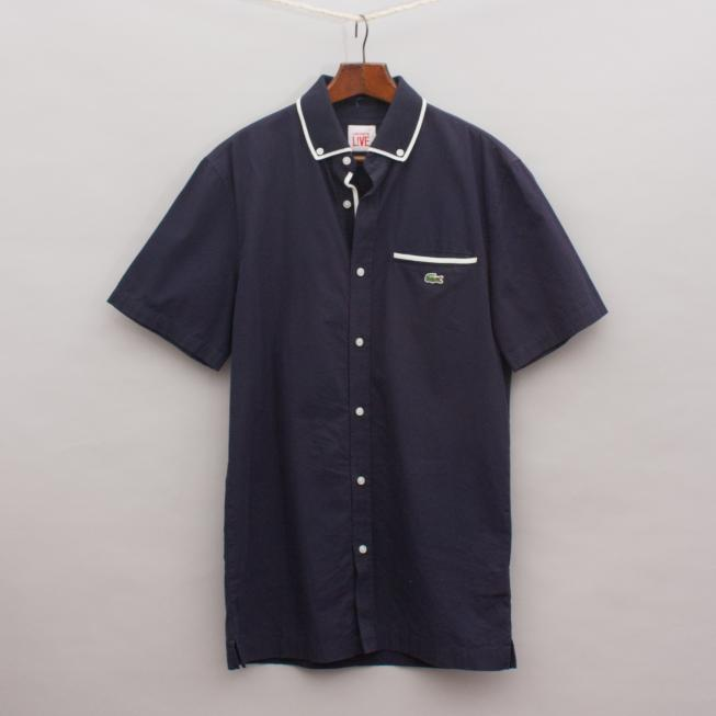 Lacoste Navy Blue Shirt