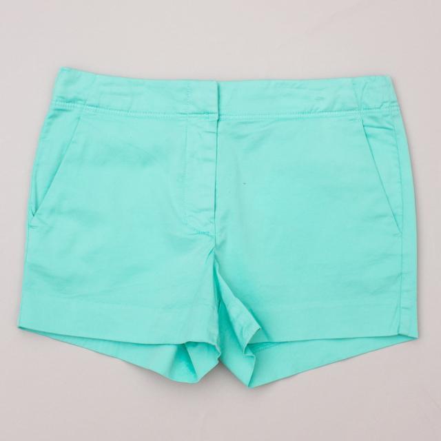 Crewcuts Spearmint Green Shorts