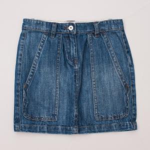Seed Denim Skirt