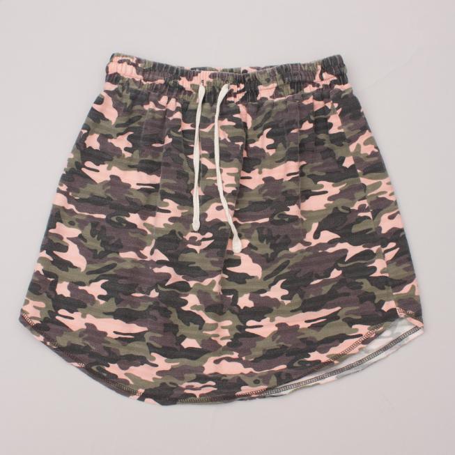 Gelati Jeans Camo Skirt