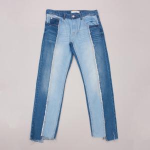 Zara Patchwork Jeans