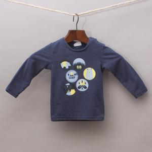 Milky Bear Long Sleeve Top