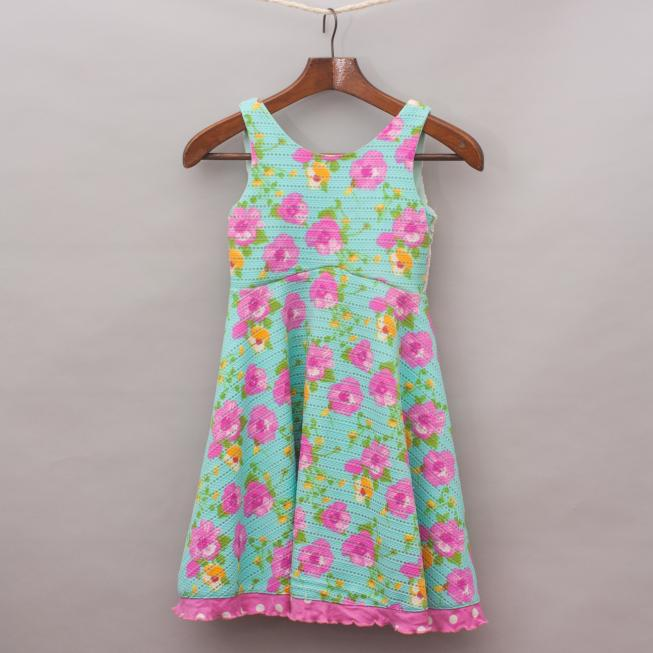 Rare Editions Floral Dress