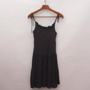 Seed Black Dress