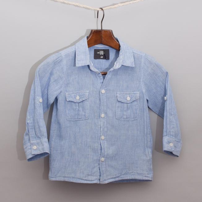 L.O.G.G Pinstripe Shirt