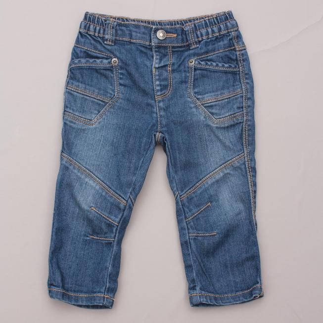 United Colours of Benetton Distressed Jeans