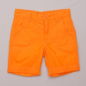 United Colours of Benetton Orange Shorts