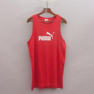 Puma Red Singlet Top