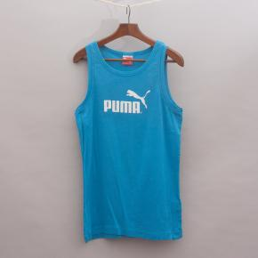 Puma Blue Singlet Top