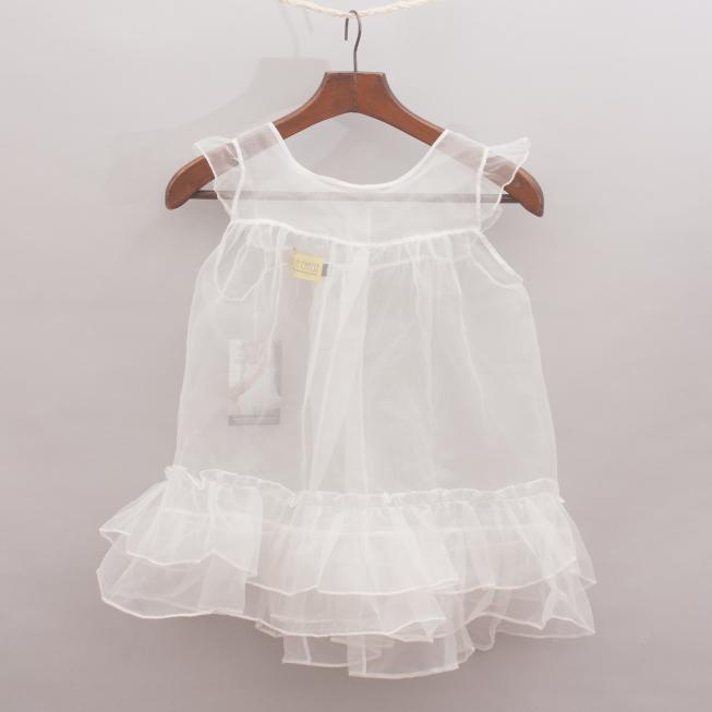 Chalk n Cheese Sheer Dress