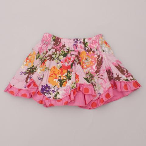 Catamini Floral Skirt